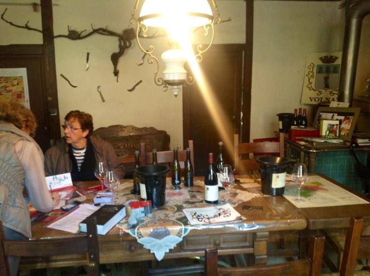 The Treasure Chest Wine Room of Volnay