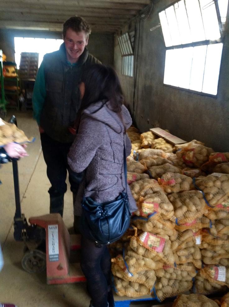 Chatting to the Potato Man