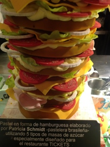 A Sickly Sweet Burger at Tickets, Barcelona