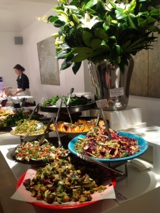 Salads taken to a whole new striking level at Ottolenghi's