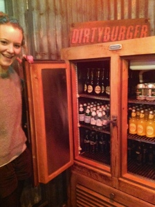 Jess discovers the drinks cabinet