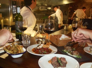 Argentinian Small Plates Cooked-Up Before Our Eyes