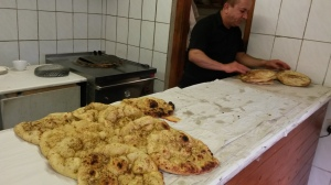 Turkish Naan Fresh From The Kiln