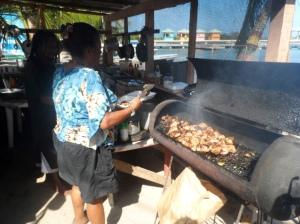 Brenda's Belizean jerk chicken food shack