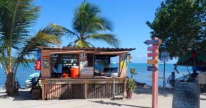 Brenda's Jerk chicken Placencia Belize