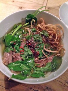 Vietnamese supper club pho