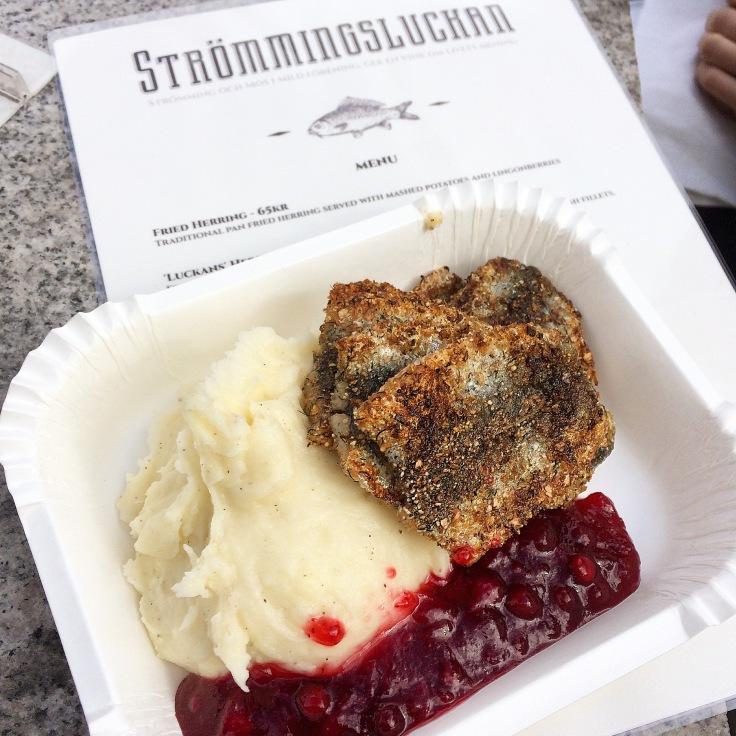 Strommingsluckan Swedish Street Food Truck in Gothenburg