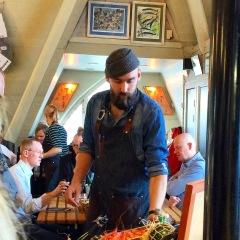 Restaurant Gabriels at Feskekorka Fish Market in Gothenburg